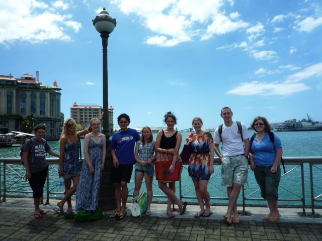 Volunteer-Group-January-2012-Caudan-Waterfront-Mauritius