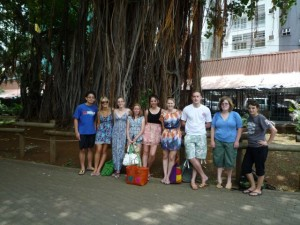 Volunteer Group January 2012 Port Louis Mauritius